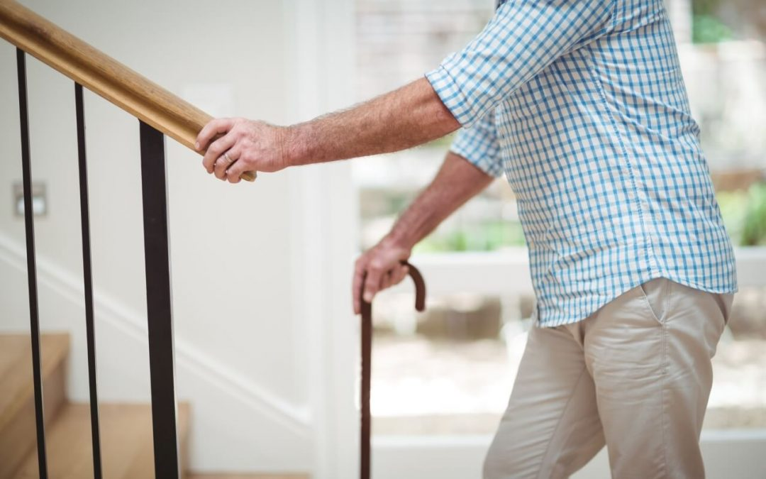 secure handrails to keep a safe and healthy home