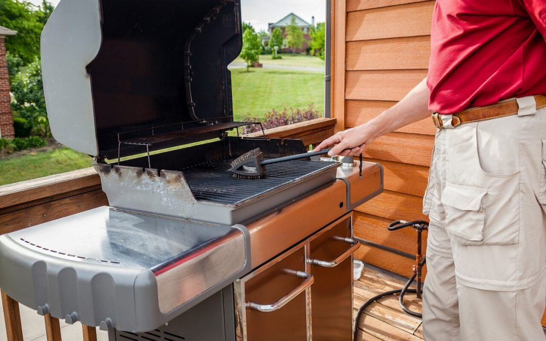 5 Tips for Cleaning Your Grill